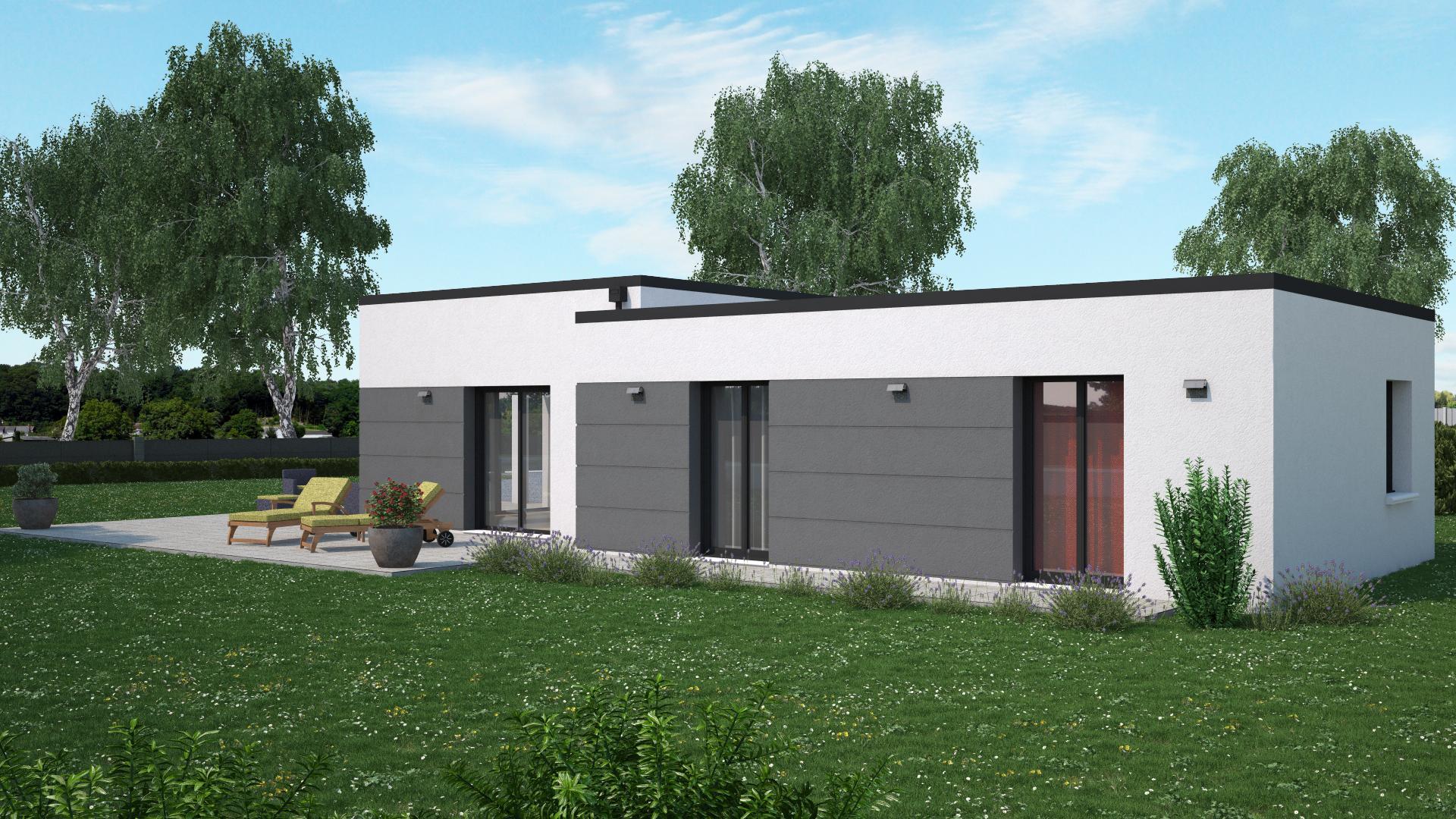 Terrain+Maison à Valanjou 4 chambres