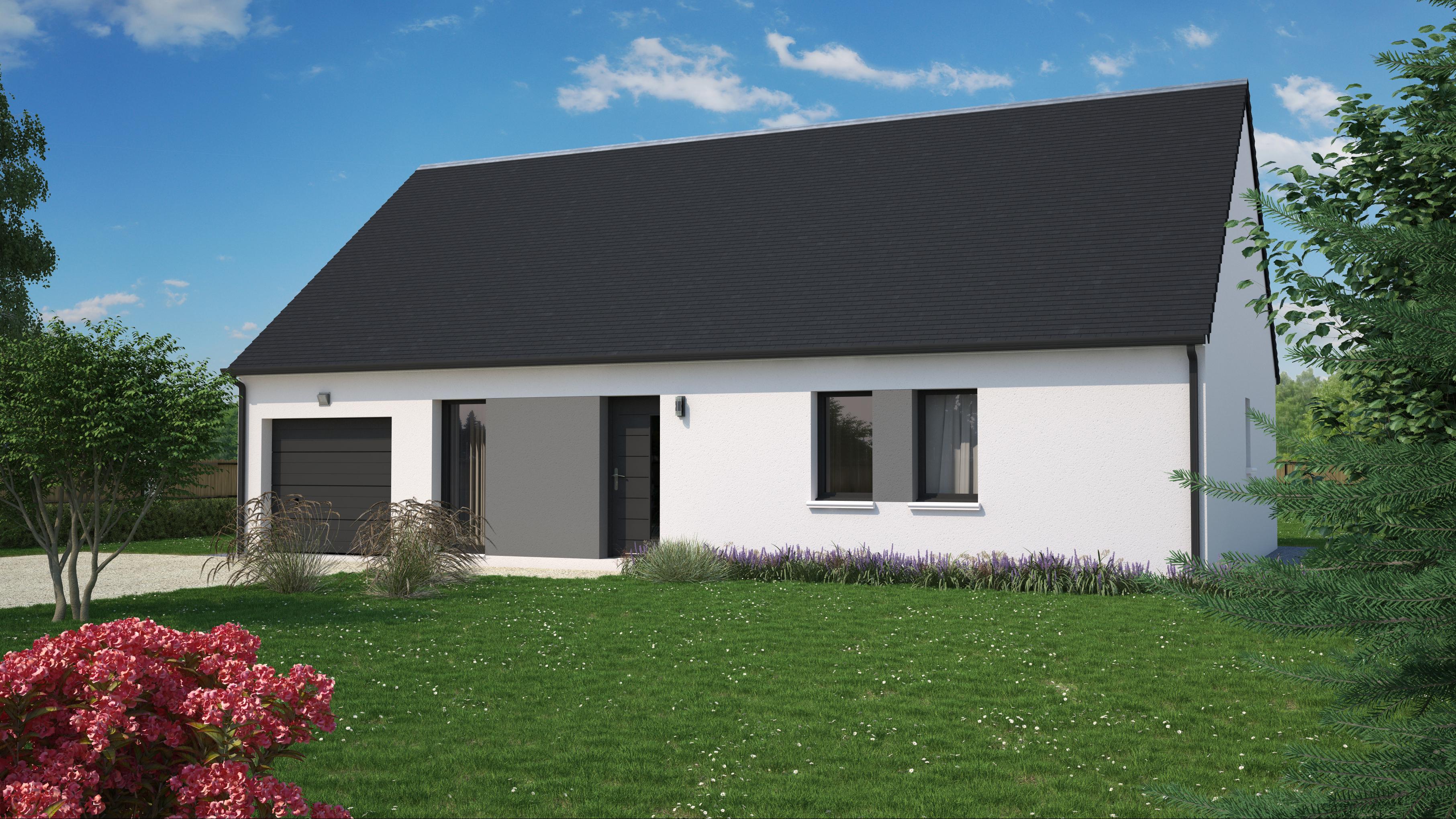 Terrain+Maison à Villemandeur 4 chambres