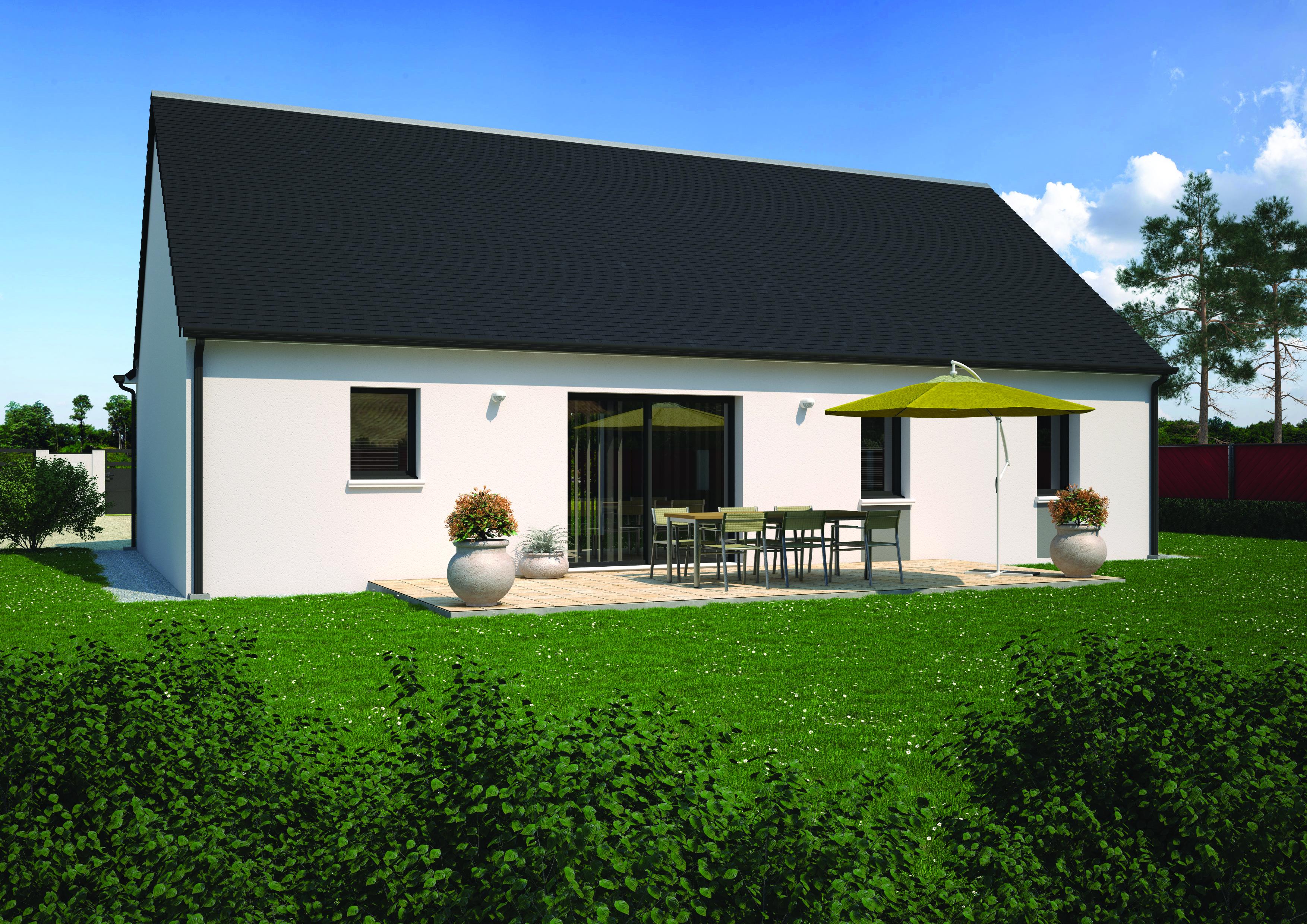 Terrain+Maison à Villemandeur 3 chambres
