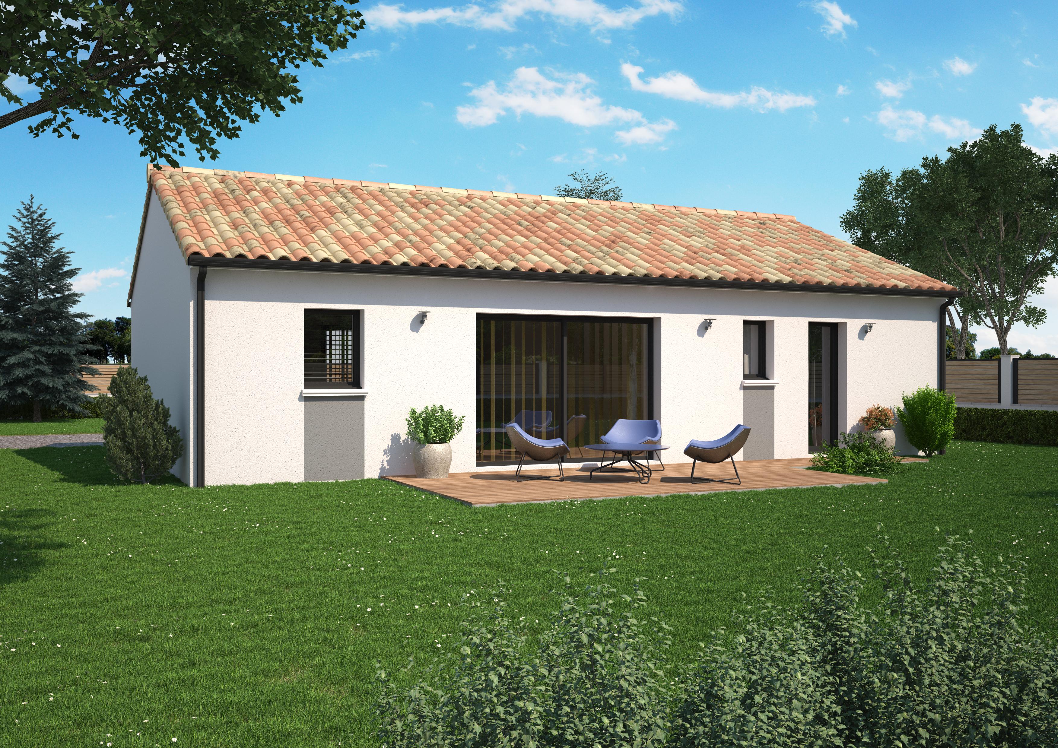 Terrain+Maison à Valanjou 3 chambres